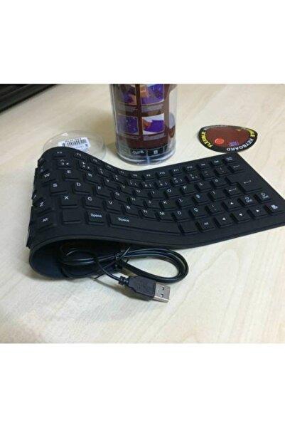 Platoon Flexi Klavye Katlanabilir Su Geçirmez Usb Klavye Q Klavye Flexibl