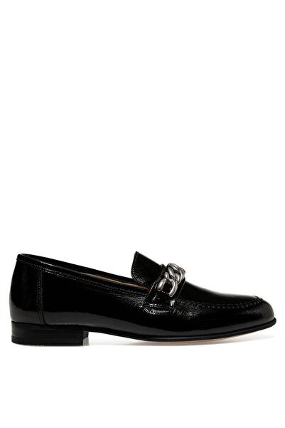 Nine West Fancy Siyah Kadın Loafer Ayakkabı