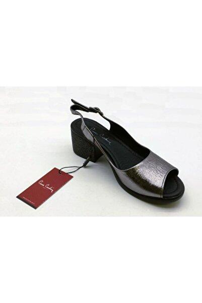 Pierre Cardin Pc-6314 Platin Sandalet