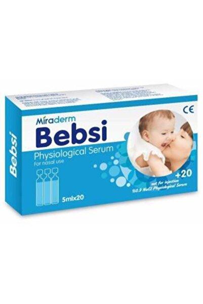 Miraderm Bebsi Serum Fizyolojik 5 ml X 20 ml Flakon