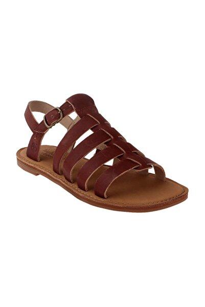 Timberland Kadın Kahverengi Sandalet 8904A