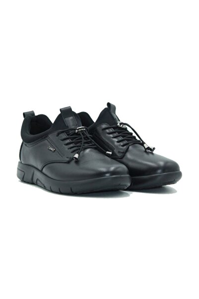 Esse 28607 Hakiki Deri Siyah Erkek Ayakkabı