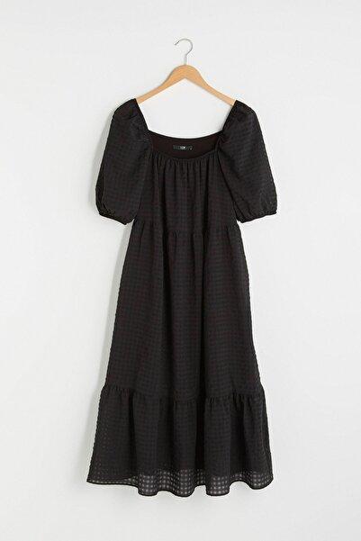 LC Waikiki Kadın Yeni Siyah LCW Vision Elbise