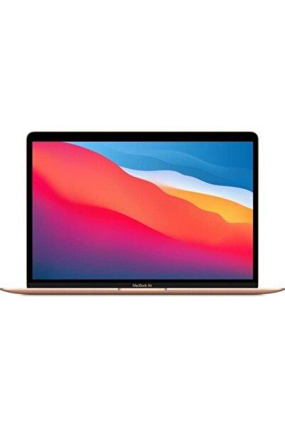 """Apple Macbook Air M1 Çip 8gb 512gb Macos 13"""" Qhd Taşınabilir Bilgisayar Altın"""