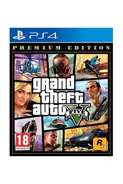 RockStar Games Grand Theft Auto 5 Premium Edition Ps4 Oyun