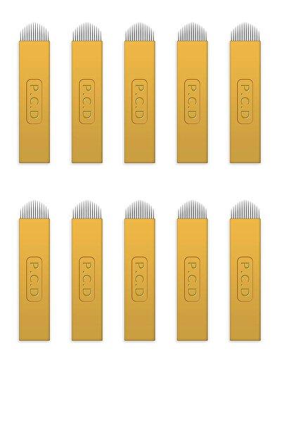 Pcd Microblading Iğnesi 14 Pin U 10 Adet