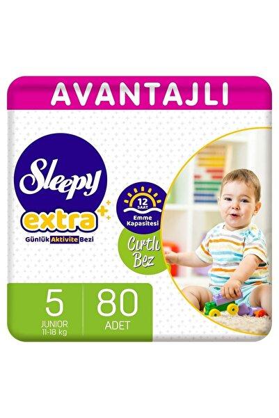 Sleepy Extra Avantajlı Bebek Bezi 5 Numara Junior 80 Adet