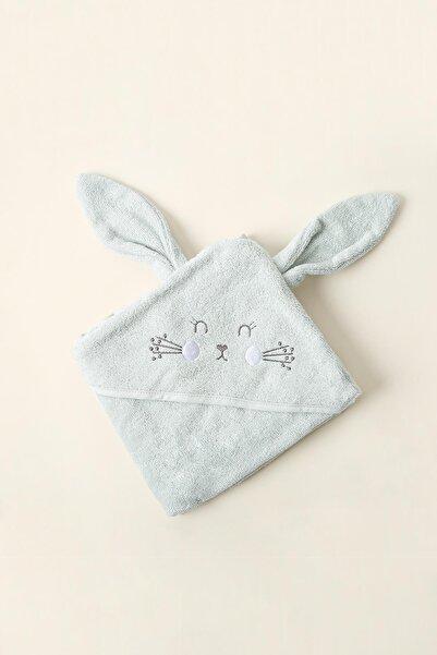 İrya Bebek Mint Bunny Kundak 75x75