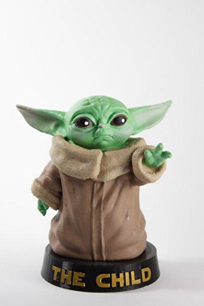 dream3d Baby Yoda Figür - Star Wars - The Mandalorian - 9 cm