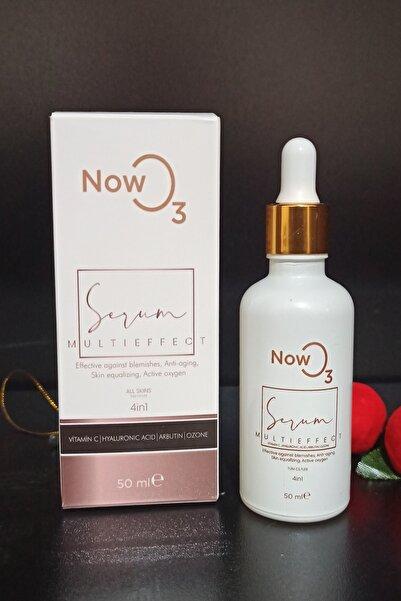 NOWO3 Multı Effect Serum (Leke Aydınlatıcı-antiaging-cilt Tonu Eşitleme-oxygen) 50ml