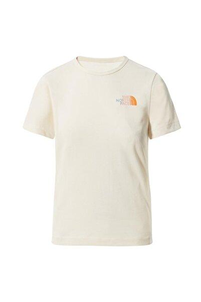 THE NORTH FACE Kadın Beyaz T-Shirt