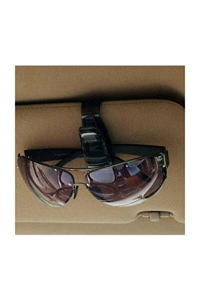 Techmaster Oto Araç Içi Gözlük Tutucu Klips Güneş Gözlüğü Kartvizit Tutacağı