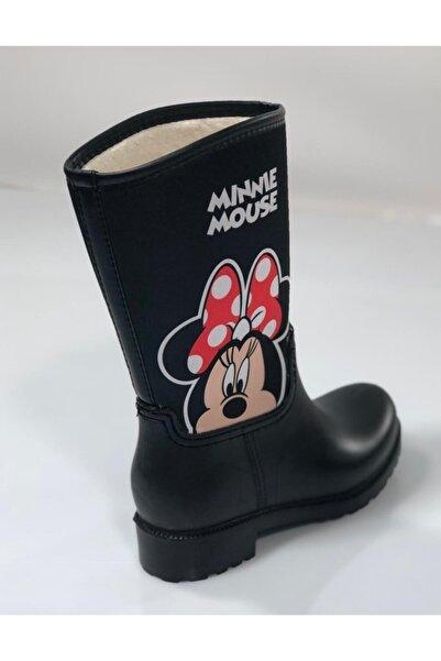 EKOFARK Çocuk Mınnıe Mouse Yağmur Çizmesi