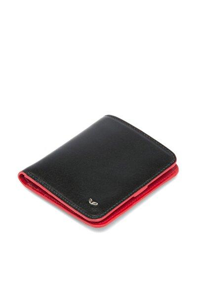 Tergan Hakiki Deri Siyah Kırmızı Erkek Cüzdan S1ce00001594