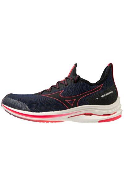 MIZUNO Wave Rider Neo Kadın Koşu Ayakkabısı Lacivert/kırmızı