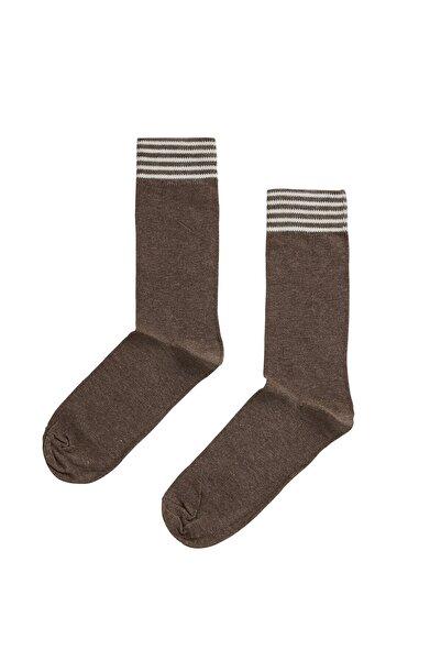 Bad Bear Sıenna Kahverengi Uzun Çorap