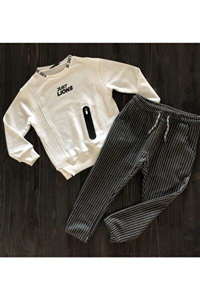 karia kids Erkek Çocuk Kargo Pantolonlu Şık Takım