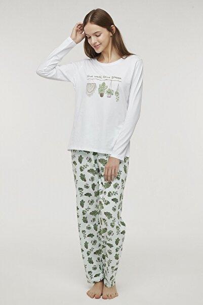 Penti Çok Renkli Live Well Pijama Takımı