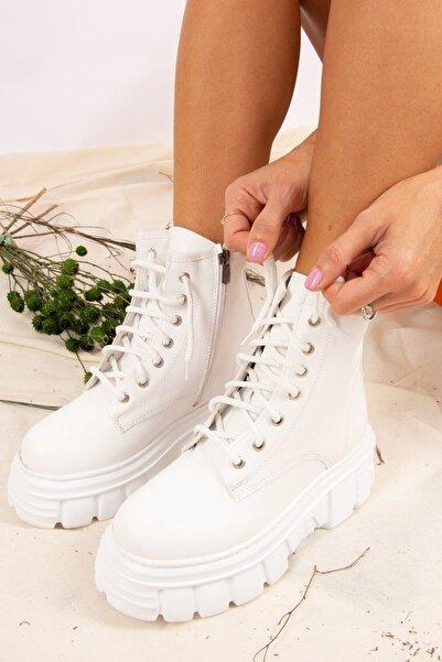 Fox Shoes Beyaz Kadın Bot J380722209