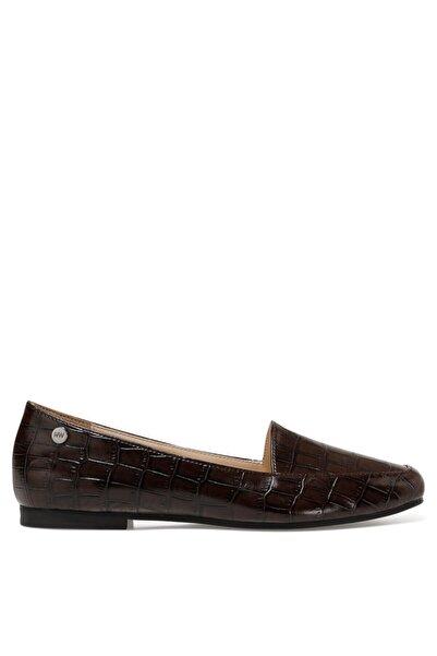 Nine West Melanıt3 Kahverengi Kadın Loafer Ayakkabı