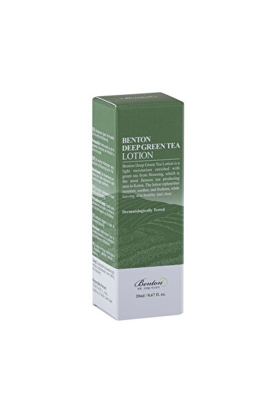 Benton Deep Green Tea Lotion Deluxe - Yeşil Çay Losyon