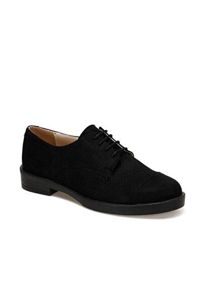 Miss F DS20068 Siyah Kadın Oxford Ayakkabı 100517645