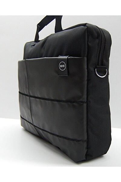 """The Moda West 15.6"""" Siyah Evrak Bilgisayar Notebook Laptop Çantası"""