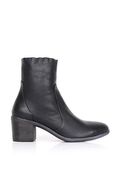 BUENO Shoes Hakiki Deri Kadın Topuklu Bot 01wr2900