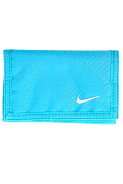 Nike Basic Cırt Cırtlı Su Mavisi Spor Cüzdan N.ıa.08.429.ns