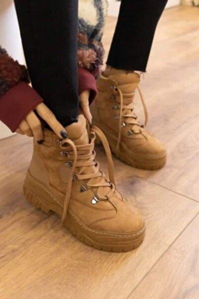 Şanlı Ayakkabı Kadın Bağcıklı Bot