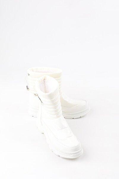 Buffalo Kadın Candide Beyaz Bot