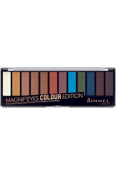 RIMMEL LONDON Magnif'eyes Far Paleti 12'li Colour Edition