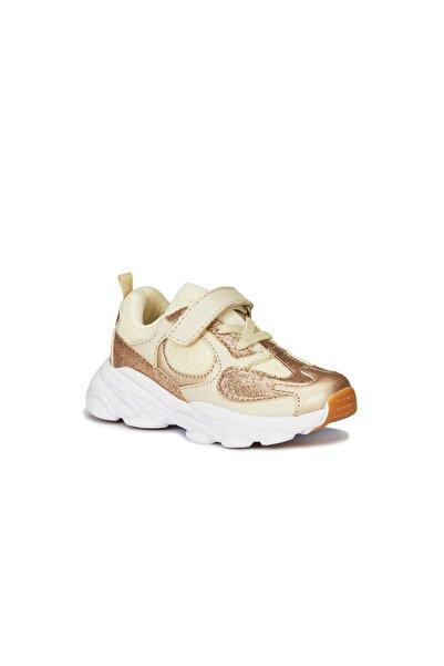 Vicco Niro Kız Bebe Altın Spor Ayakkabı
