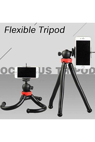Techmaster Esnek Tripod Gorillapod Slr Telefon Kamera Tutucu Tutacağı Stand