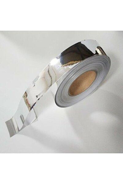 wolf-fol Krom Nikelaj Bant 3cmx5mt Yapışkanlı Araç Çıta Direk Kaplama Folyosu