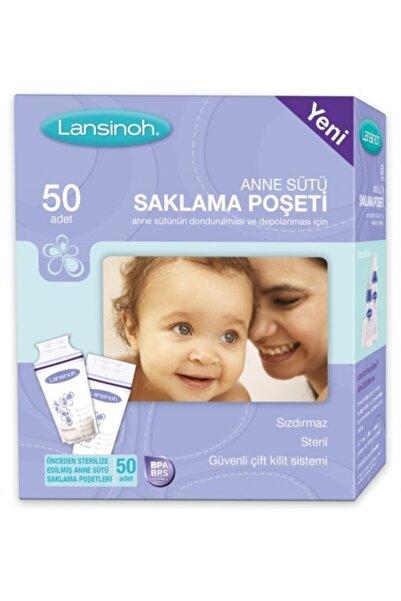 LANSINOH Süt Saklama Poşeti (50 Adet)