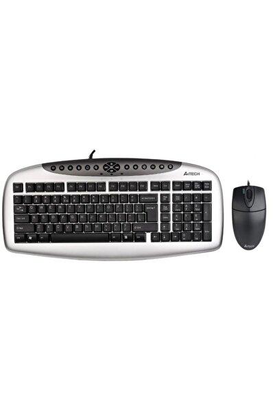 A4 Tech Kb-21620d Gümüş Siyah Q Tr Usb Kablolu