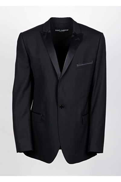 Dolce Gabbana Erkek Siyah Casual Ceket