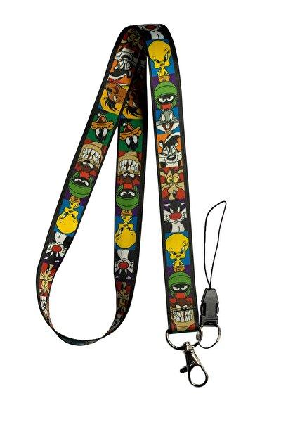 StormiStoretr Looney Tunes Boyun Ipi Ve Telefon Askısı