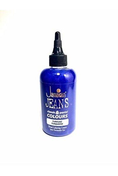 Color Saç Boyası Turkuaz Mavi Boya1008