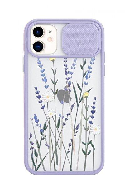 POFHİ Iphone X Lavanta Slayt Telefon Kılıfı