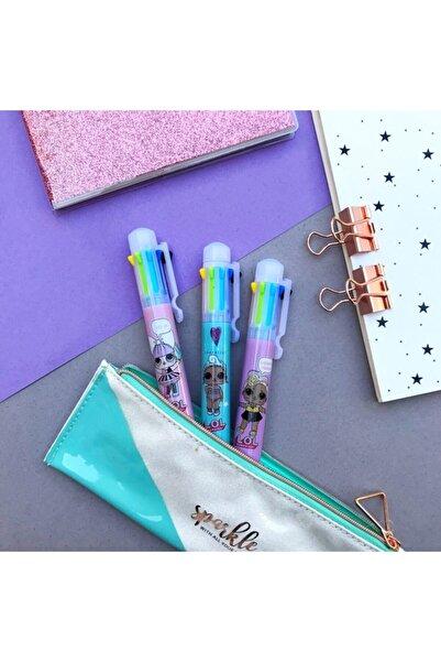 Minnoş Dükkan Sürpriz Bebekler 8 Renk Çoklu Tükenmez Kalem