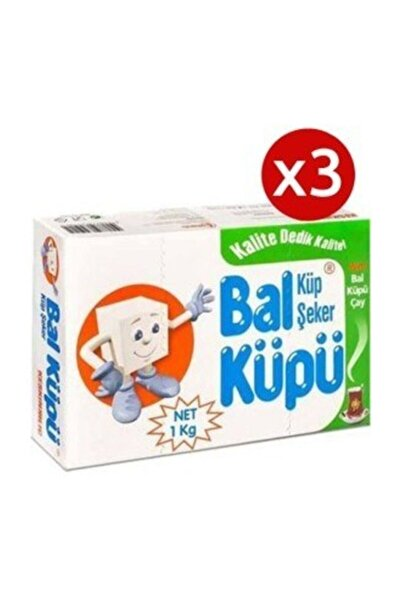 Bal Küpü 3 Adet Balküpü Kesme Şeker 1000gr 360lı 3 Adet