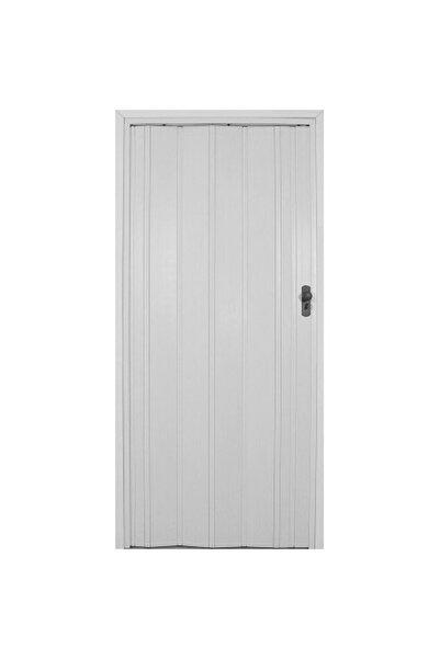 SARPAŞ Katlanır Akordiyon Pvc Tek Kapı Camsız - 72x209 - Beyaz 12 Mm
