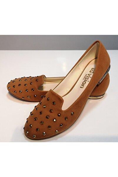 Vision Taba Kadın Babet Günlük Bayan Ayakkabı