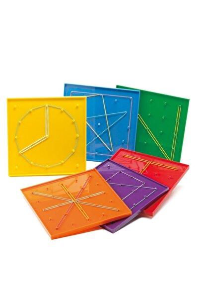 Rubenis Arıtıme - 18x18 Geometri Tahtası Renk