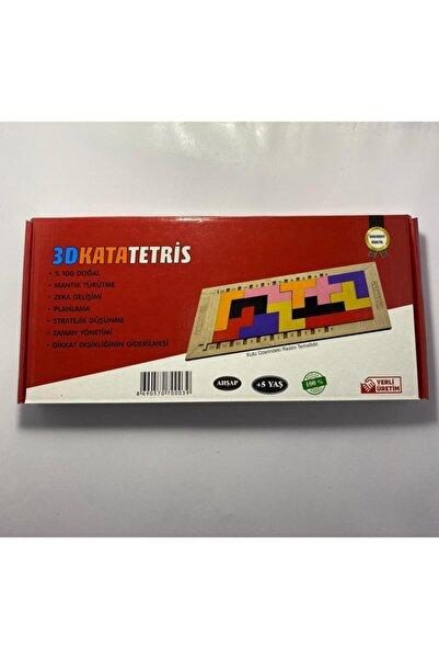 Katamino Ahşap 3d Kata Tetris Zeka Oyunu