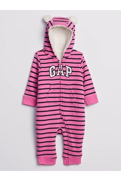 GAP Baby Logo Kapüşonlu Tulum