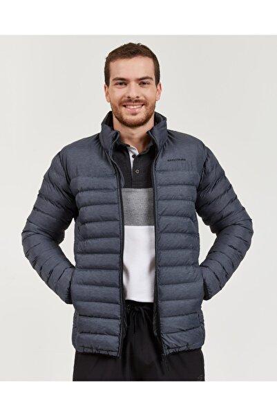 SKECHERS Outerwear M Lightweight Jacket Erkek Gri Mont