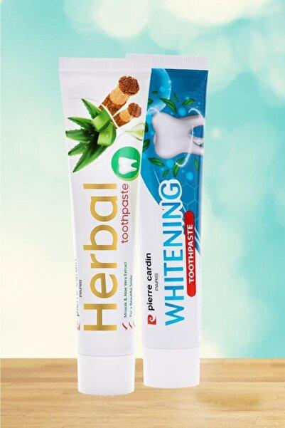 Pierre Cardin Aloe Vera & Misvak & Çay Ağacı Özlü Bitkisel Ve Beyazlatıcı Diş Macunu - 75 ml- 2'li